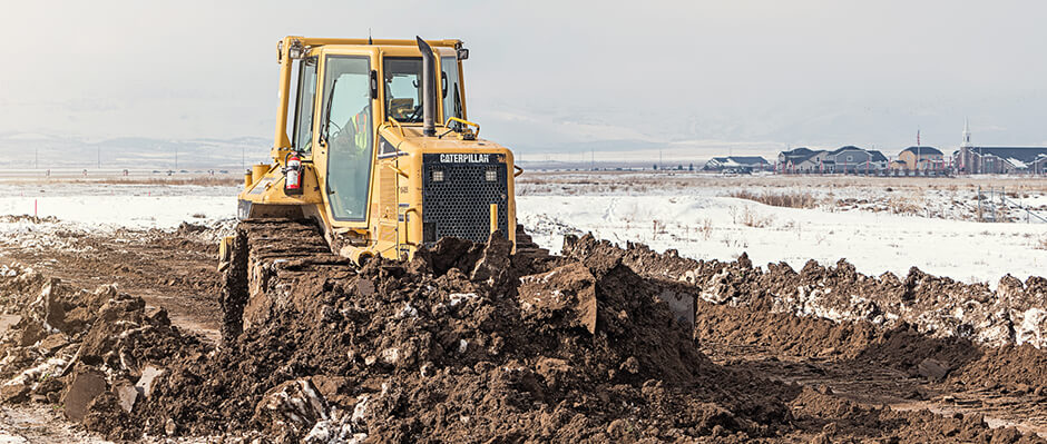 Stripping and demolition Earthmoving Equipment
