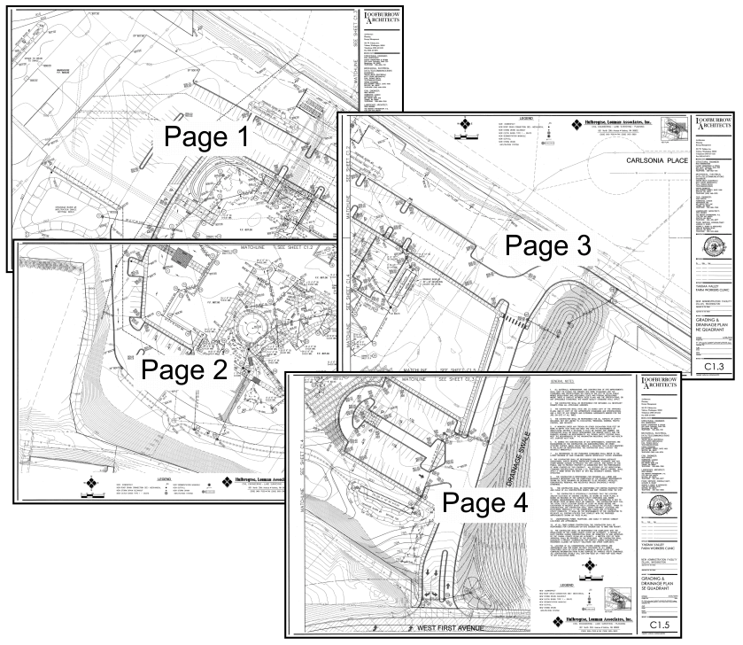 Construction Layouts