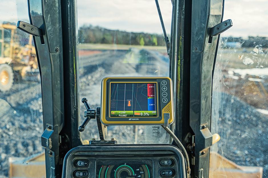 Topcon GPS Machine Control