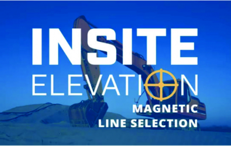InSite Elevation Magnetic Line Selection