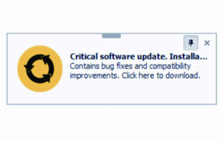 Critical Software Updates are Available